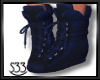 Blue Kylie Boots