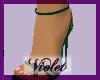 (V) Green heels