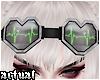 ✨ EKG Heart Goggles