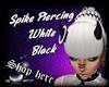 Spike Piercing White