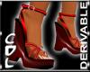 CdL Deriv Platfm Sandals