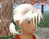 ultra blonde pigtails