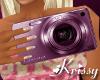 Pink Digital Camera F