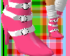 bb* pink strapped shoe