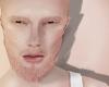 Head + beard, rose gold.