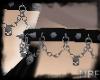 Skulls&chains choker V1