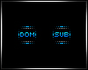 Dom Sub Badge Set