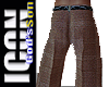 ICON  Brown Suit Pants