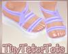 Purple Sandals