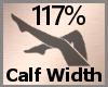Calf Width Scale 117% FA