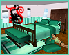 TS Mint Bed Set wPoses
