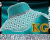KG* Lace-Esmerald-Hat