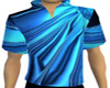 Electric Blue Male Shirt