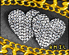 ɚ.Diamond Heart Studs