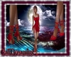 Lil Red Stiletto Heels