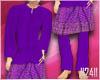 24:Baju Melayu Purple V1