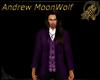 Casual Suit Top Purple