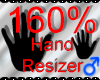*M* Hand Scaler 160%