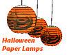 Halloween Paper Lamps