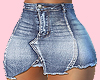 E* Bianca Blue Skirt RL