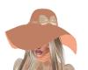 Glowing Peach Hat