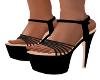 SL-Slinky Black Heels
