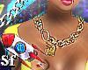 SF™ Lock Heart Necklace