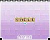 Scrabble Smile Badge
