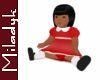 MLK B Sitting Doll