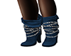 ~N~ Blue Chained Boots