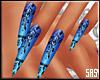 SAS-Nails Lace Blue