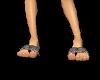 Snakeskin Sea Sandals