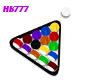 HB777 CI BilliardsSet V3
