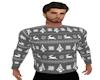 Grey Christmas Sweater