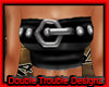 |DT|BELT TUBE TOP (BLAQ)