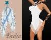 (i64)Salsa Dress white