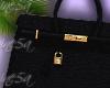Lock Bag Black