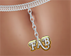 Fab Belly Chain Silver