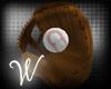 *W* Glove And Ball