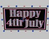 Animated July 4th Sign