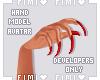 a hand display ¹
