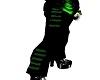-X- green  pants