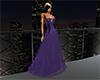 Purple Corset Gown
