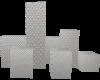 7pose Model Cube ~silver