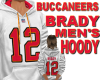 BUCS TOM BRADY HOODY (w)
