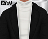 Black White Turtle Suit