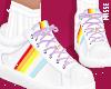 n| Rainbow Lilac Shoes