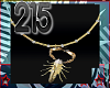 215 Scorpio Necklace[F]