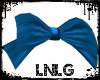 L:Head Bow-Blu
