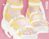 n| Trendy Shoes Yellow